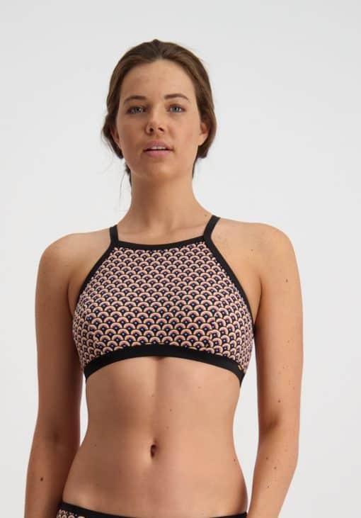Piha Gatsby High Neck Bikini Top